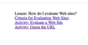 Guess the URL