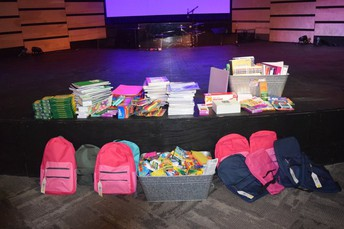 Band Supports Community Through Backpack Drive