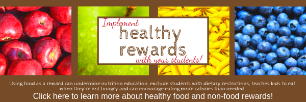 Click here to learn about healthy non-food rewards.