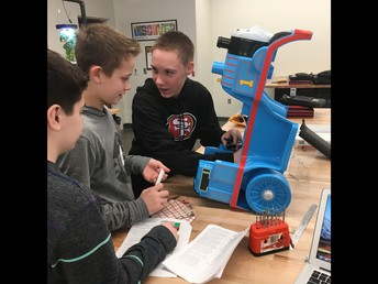 WMS students share Genius Hour projects