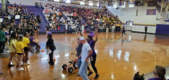 Homecoming Pep Rally: Faculty and Staff Participation