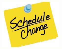 Time Change 2018-2019 School Year