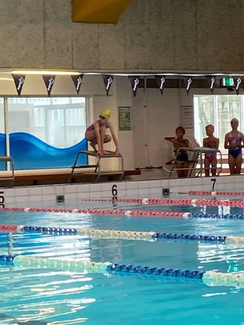 South Cluster Swimming