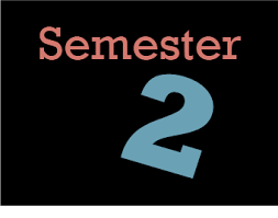 Schedule for the First Day of Semester 2 - January 11th