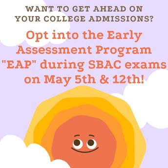 EAP Test in SBAC