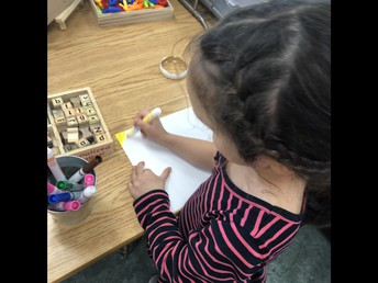 Writing Wonders in Kindergarten