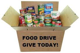 CANNED FOOD DRIVE - NOV. 25 TO DEC. 18