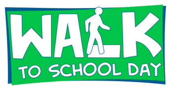 International Walk-to-School Day