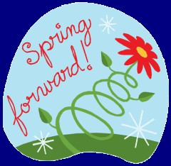 Spring Forward, Sun 3/8