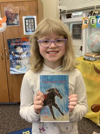 BFS Star Writer of the Month Jane Light Grade 5