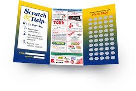Scratch & Help Fundraiser: Grades 9-12