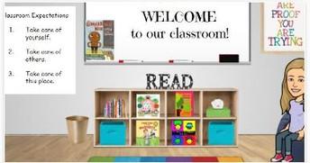 Kindergarten Bitmoji Classroom