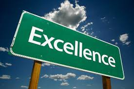 October Character Trait: Excellence