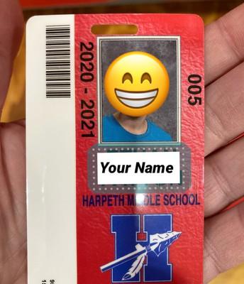 Badge/barcode/bus!
