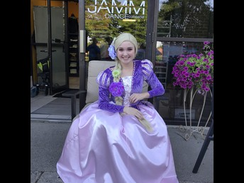 JAMM Carnival Princess Appearance