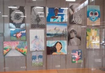 Art from high school students