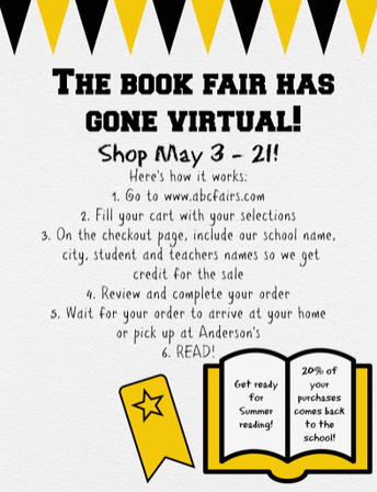 The Book Fair Has Gone Virtual!