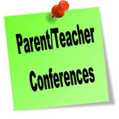 Please plan to attend Parent-Teacher Conferences!