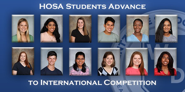 HOSA Students Advance to International Competition