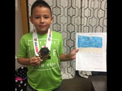 A Gold Medal Writer in 1A