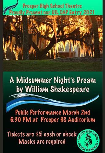 Midsummer Night's Dream Performance