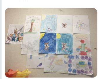 JMA Jaguars being creative with art!