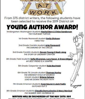 Young Author Awards