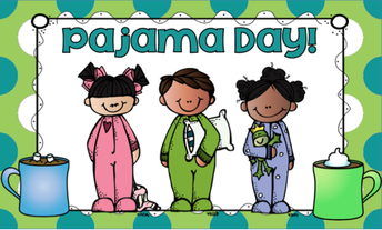 Friday, December 20th is Pajama Day!
