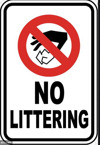 LITTER FREE School Zone