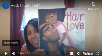 Ms. Valentine's Read Alouds