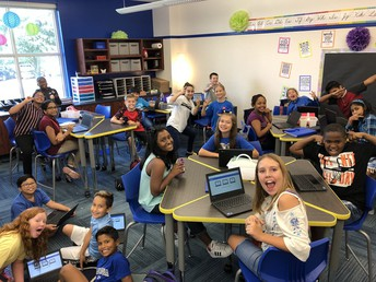 Quizlet fun with Mrs. Monaghan