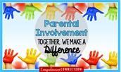 Title 1 Parent Involvement Survey