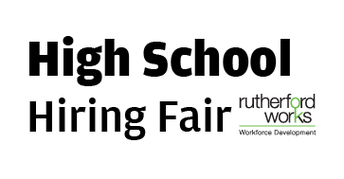 Seniors Save the Date: Rutherford County Hiring Event April 10th