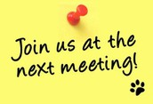 PTA General Meeting on Tuesday, October 4 at 6PM           Roan Forest Cafeteria