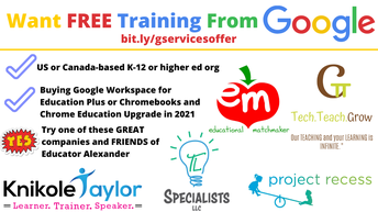 DID YOU KNOW????  FREE TRAINING FROM GOOGLE