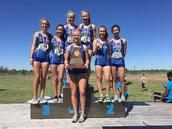 Girls Cross Country Regional Champs!