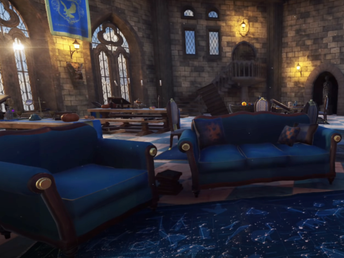 Relax in the Ravenclaw Common Room.