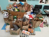 Food Drive Thank You!