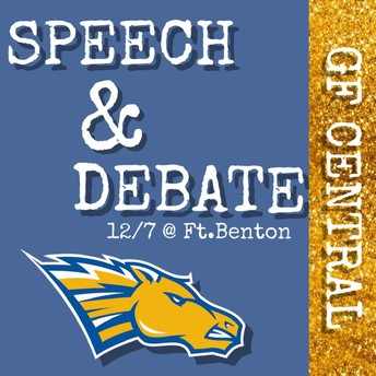 Speech and debate is going for another win!