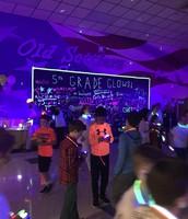 "5th Grade ""Glow"" Social"