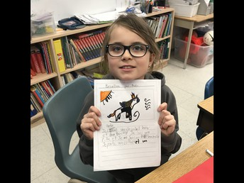 ...and writing and illustrating awesome stories!