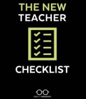 The New Teacher Checklist