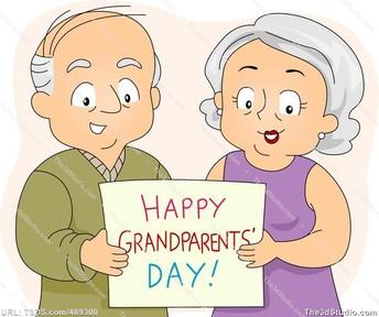 Grandparents Day (5K-2nd)-Volunteers needed