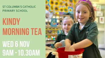 Kindy Parents - Come Along to Morning Tea