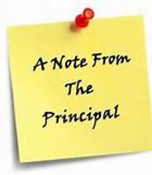 Principal's Note