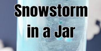 Snowstorm in a Jar Experiment