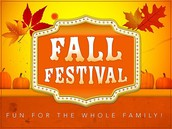 We need help with Fall Festival!