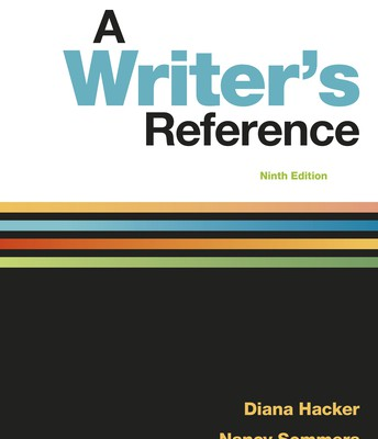 A Writer's Reference, 9th edition