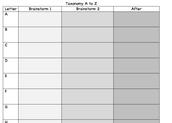 3 column taxonomy