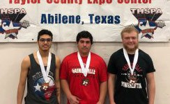 Boys Powerlifting Medals at State